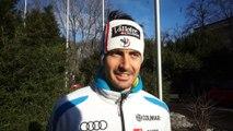 Interview de Jean Baptiste Grange avant le slalom de Zagreb - Vidéo FFS/EUROSPORT