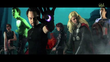 Mini Pistache : Un Air d'Avengers
