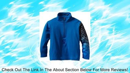Spyder Boy's Mini Linear Web Dry W.E.B. T Neck Shirt, White/Red, 2 Review