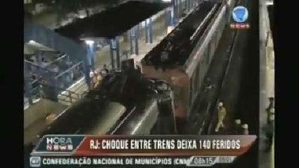 Brésil : 158 blessés dans la collision entre deux trains