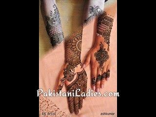 Best Bridal Hands Mehndi Designs 2015-16 Arabic Indian Pakistani