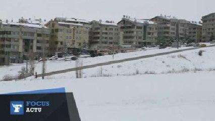 Vague de froid et de neige en Turquie
