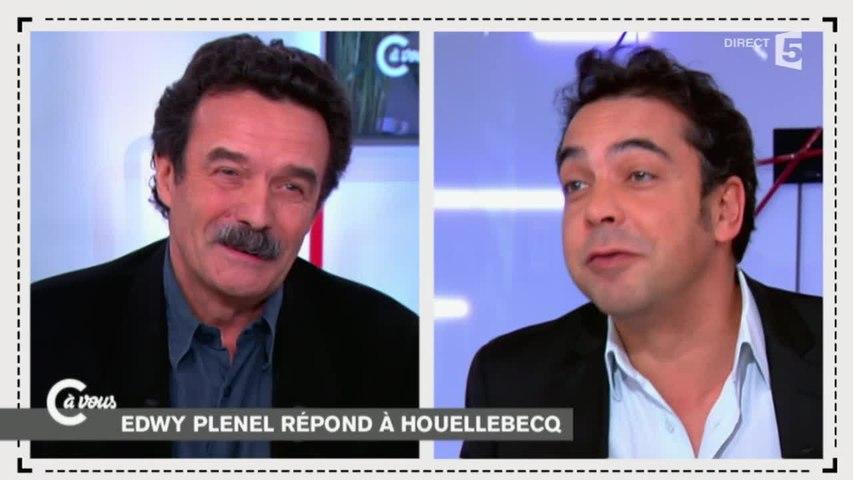 Houellebecq et islamophobie: clash entre Cohen et Plenel - C à vous - 06/01/2015