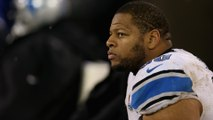 Ndamukong Suh Cries After Detroit Lions Loss, Is He Leaving Detroit?