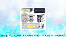 """New Outdoor Mobile Radio MP3 USB Port SD Card Input 4x 4"""" Speakers + Cover White Review"""