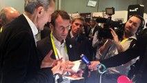 Emmanuel Macron se fait offrir la montre connectée Withings Activité Pop