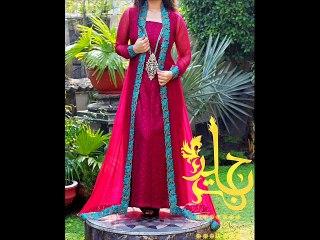 Latest Fashion Anarkali Umbrella Frock Suit 2015-16 in India Pakistan