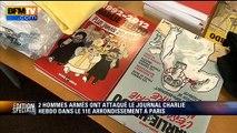 """Fusillade à Charlie Hebdo: """"Nous avons entendu des tirs de kalachnikov très nombreux"""""""