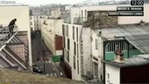 Shooting on Charlie Hebdo Satirical Magazine Office, Roof view #CharlieHebdo