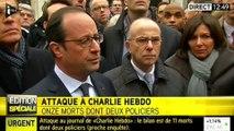 Charlie Hebdo : l'intervention de François Hollande