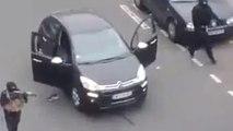 Charlie Hebdo : les images de l'attaque, filmée par des témoins