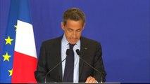 """Attentat Charlie Hebdo : une """"tragédie nationale"""" pour Nicolas Sarkozy"""