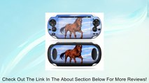 Protective Vinyl Skin Decal Cover for PS Vita PSVITA Playstation Vita Portable Sticker Skins Horse Review