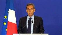 """Attaque contre """"Charlie Hebdo"""" : """"Notre démocratie est attaquée"""", réagit Nicolas Sarkozy"""