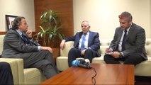 Gaziantep Hollanda Dışişleri Bakanı Bert Koenders Çadırkentte Suriyelileri Ziyaret Etti