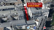 Charlie Hebdo : reconstitution de l'attaque