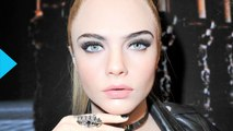 Cara Delevingne Strips Down to Lingerie for Her First DKNY's Intimates Campaign--See the Sexy Pic!