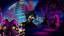 ベビーメタル BABYMETAL mission 2014.03 武道館ライブDVDにてアニメ(Anime)。From Japan to Europe