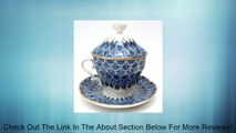 "Lomonosov Porcelain Tea Maker ""Forget-me-not"" Tea Cup with Lid and Saucer Review"