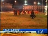 Autoridades se pronuncian tras muerte y amotinamiento en cárcel de Cotopaxi