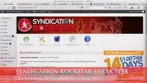 Syndication Rockstar Review - Best SEO plugin 2013