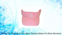 New York Yankees Pink Visor Hat - Adult NY Yankees MLB Baseball Golf Cap Review