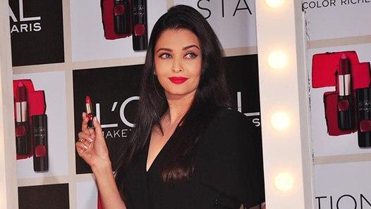 Aishwarya Rai Bachchan Launches Lipstick Brand - video ...