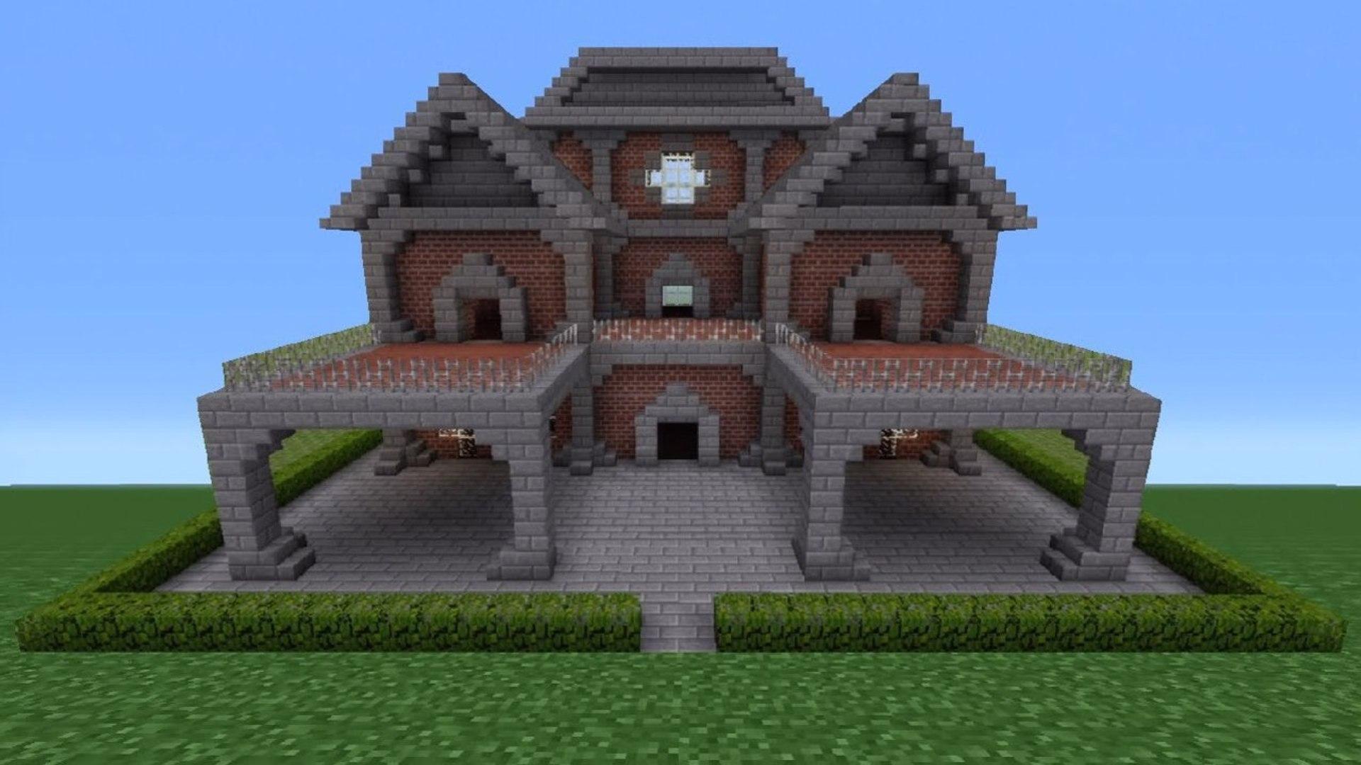 Minecraft Tutorial: Brick House - 11