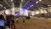 Bull Riding Rodeo and Lasers