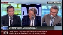 Brunet & Neumann : Charlie Hebdo: L'unité nationale est le mot d'ordre - 08/01