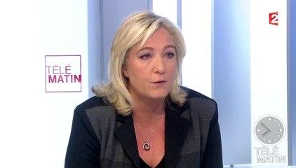Marine Le Pen - 8 janvier 2015