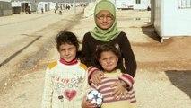 FOOT : À Al-Zaatari, le foot comme lueur d'espoir (3/5)