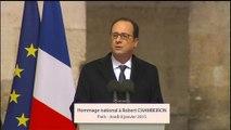 """Hollande: """"Aujourd'hui est un jour de deuil national"""""""