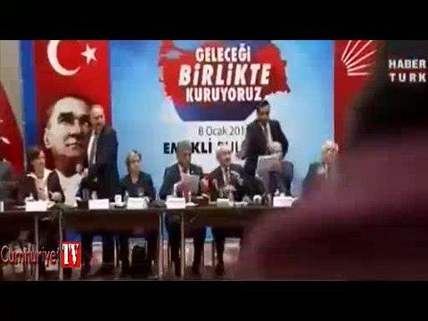 Kılıçdaroğlu'na ayakkabı fırlatılma anının en net görüntüsü