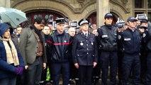 Rassemblement journée de deuil national à Saint-Quentin