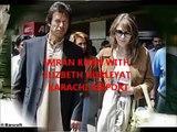 Imran Khan_ with Hugh Grant's gf Elizibeth Hurley_ Hugh Grant with Imran x wife