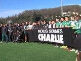 L'hommage de l'ASSE aux victimes de l'attentat
