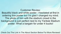 New York Yankees Derek Jeter in Stadium Sports Poster Print Review