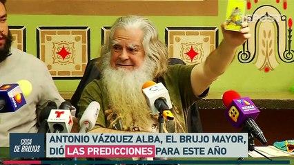 """El """"Brujo Mayor"""" de México predice la caída de Maduro"""