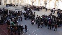 Attentat : le lycée Thiers à Marseille s'unit pour Charlie Hebdo