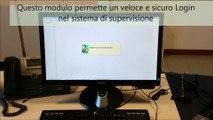 Login supervisione tramite impronta digitale