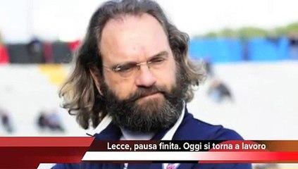 SPORT - Lecce, pausa finita. Oggi si torna a lavoro