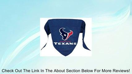 Houston Texans Pet Dog Football Jersey Bandana S/M Review