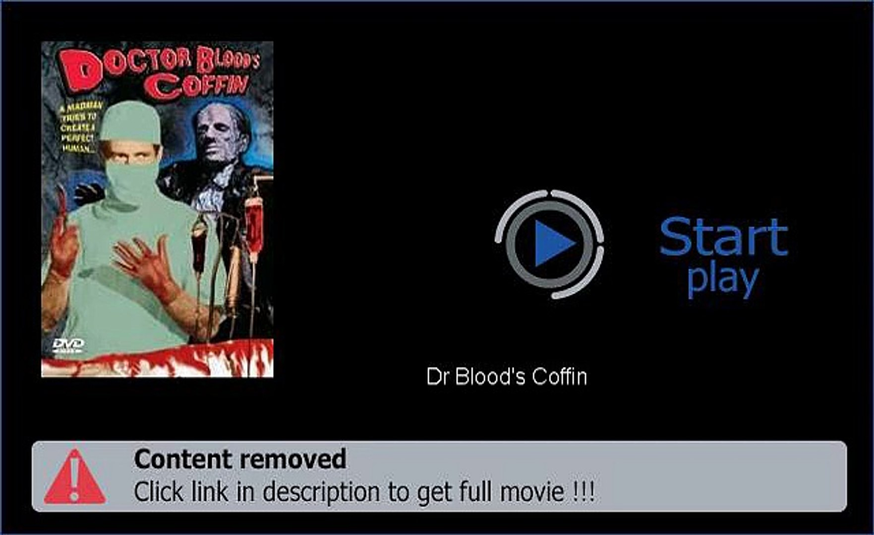 Dr Blood's Coffin Movie Download Link