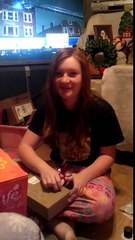 Best  Reaction to Christmas Present for Biggest 1D fan!