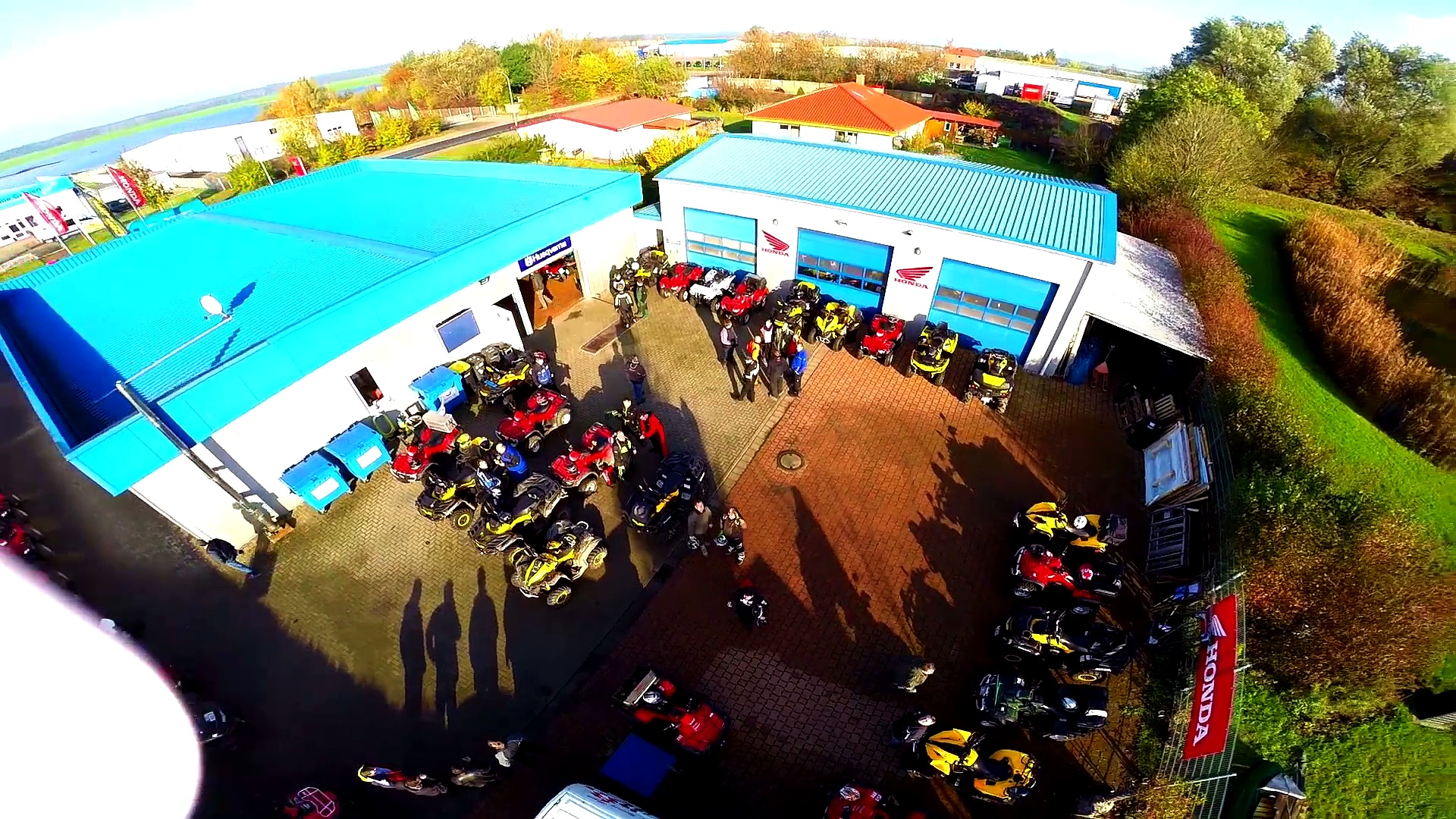 Team Vathje Quad Day Can Am Power 02.11.2014