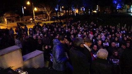 Aulnoye-Aymeries: l'hommage aux victimes de Charlie Hebdo