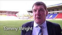 Tommy Wright believes Saints will take 'belief' from win over Dons