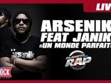 """Arsenik feat Janik """" Un monde parfait"""" en live dans Planète Rap"""