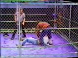 Terry Funk vs Bruce Walkup (Florida) (Empty Arena Bunkhouse Steel Cage)